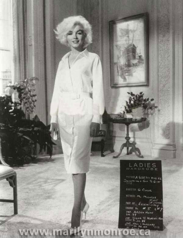marilyn monroe costume tests. Black Bedroom Furniture Sets. Home Design Ideas
