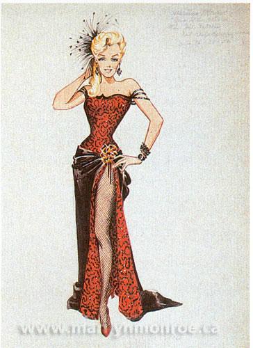 William Travilla S Marilyn Monroe